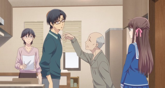 Fruits Basket Episode 5 Grandpa Slapping To Victory