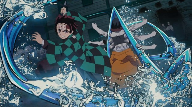 Demon Slayer Kimetsu No Yaiba Episode 9 Tanjiro Attacks Susamaru