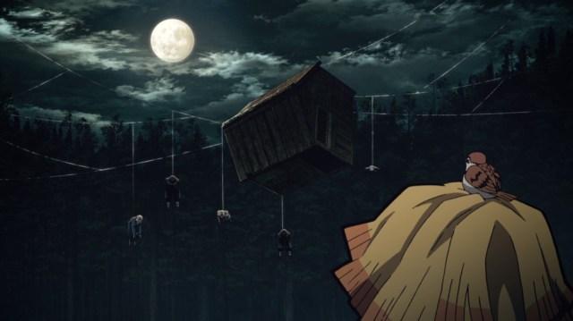 Demon Slayer Kimetsu No Yaiba Episode 17 Zenitsu Creepy Forest Hut