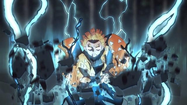 Demon Slayer Kimetsu No Yaiba Episode 17 Zenitsu Lightning Attack