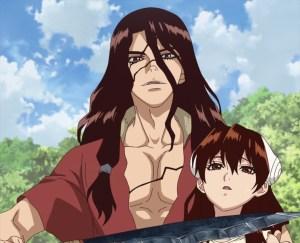 Dr Stone Episode 4 Tsukasa Holds Yuzuriha Hostage