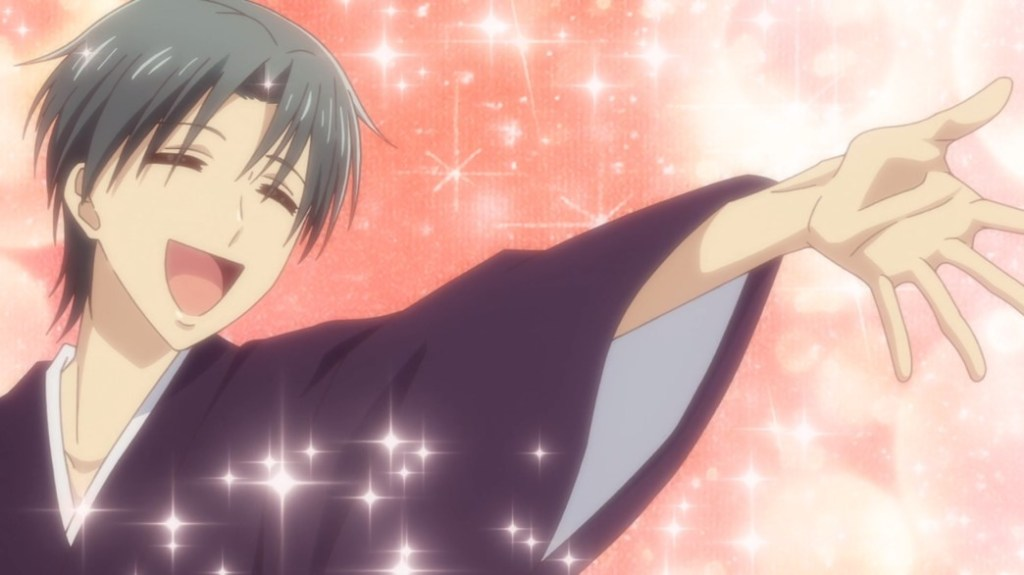Fruits Basket Episode 15 Shigure Acting