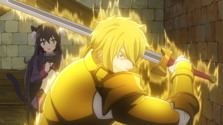 How Not To Summon A Demon Lord Episode 4 Emile Bichel Berger Protecting Rem
