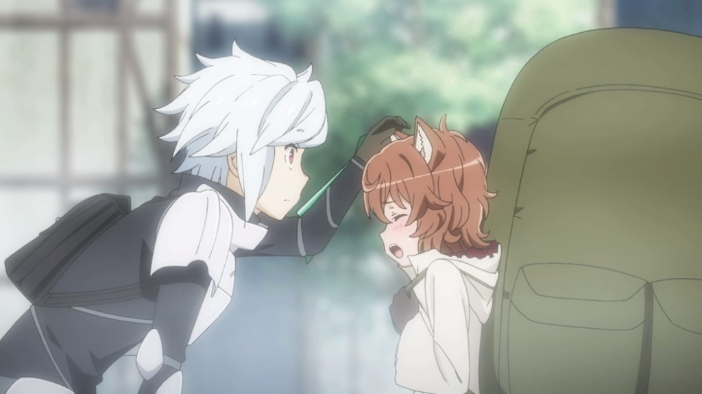 Is It Wrong To Try To Pick Up Girls In A Dungeon Episode 0 Bell And Lili