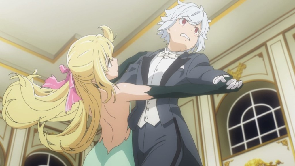 Is It Wrong To Try To Pick Up Girls In A Dungeon II Episode 1 Bell And Ais