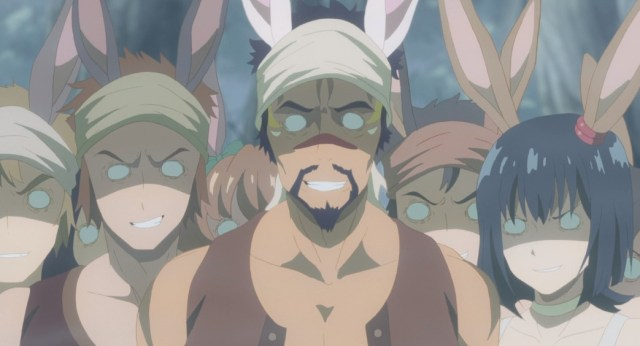 Arifureta From Commonplace to World's Strongest Episode 6 Violent Bunny Men