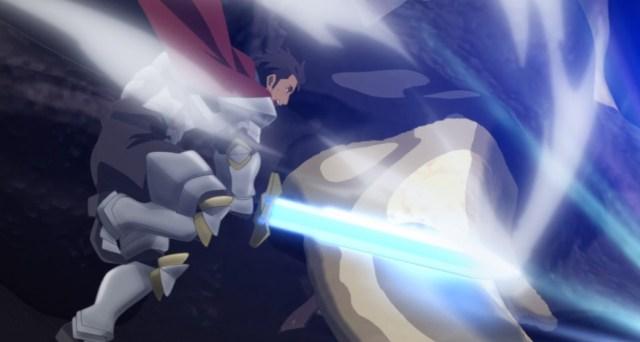 Arifureta From Commonplace to World's Strongest Episode 5 Sword Hero Attacks Horn