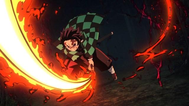 Demon Slayer Kimetsu No Yaiba Episode 19 Tanjiro Combines Hinokami And Water Technique