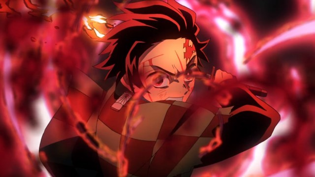 Demon Slayer Kimetsu No Yaiba Episode 19 Tanjiro Goes For The Killer Blow
