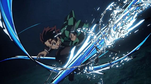 Demon Slayer Kimetsu No Yaiba Episode 19 Tanjiro Water Technique Final Form