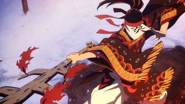 Demon Slayer Kimetsu No Yaiba Episode 19 Tanjiro's Father Hinokami Technique
