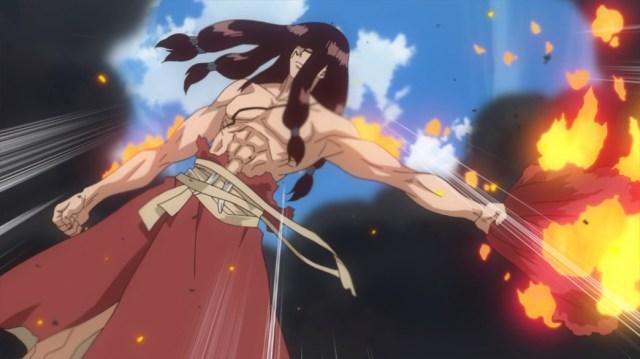 Dr Stone Episode 5 Tsukasa Survives Explosion
