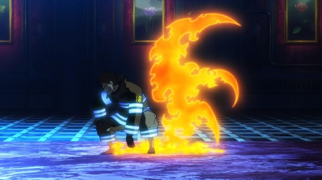 Fire Force Episode 6 Shinra Ready to Fight