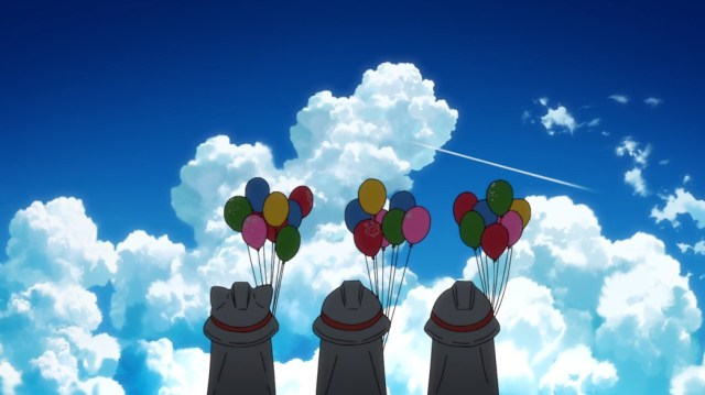 Fire Force Episode 4 Mascots Watching Shinra Fly