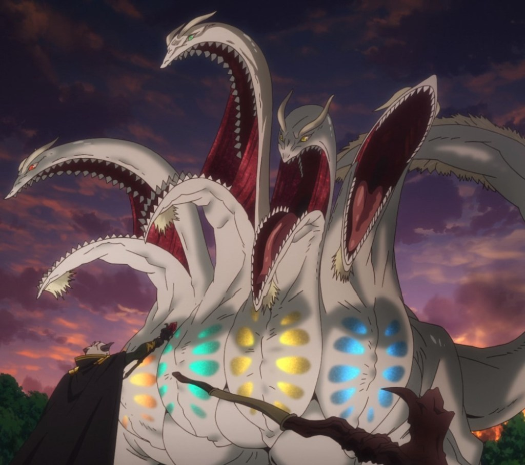 How Not To Summon A Demon Lord Episode 8 Daiblo Faces Hydra