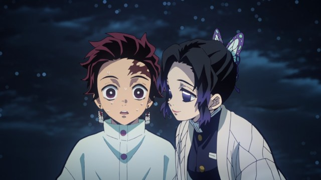 Demon Slayer Kimetsu No Yaiba Episode 24 Shinobu Interrupts Tanjiro's Meditation