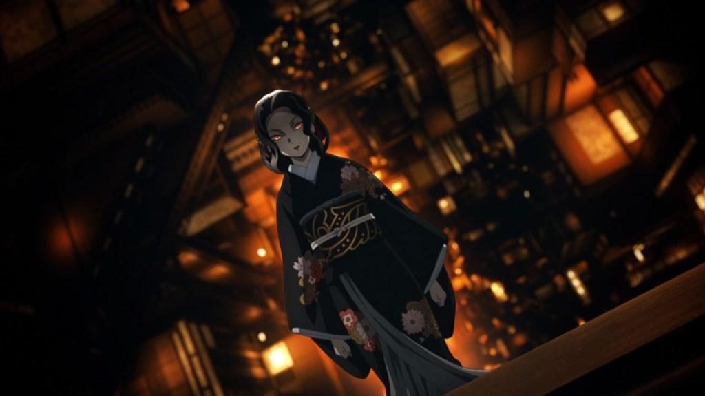 Demon Slayer Kimetsu No Yaiba Episode 26 Muzan Kibutsuji's New Form