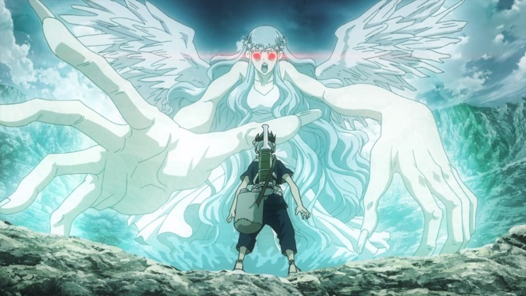 Dr Stone Episode 12 Chrome versus Mother Nature