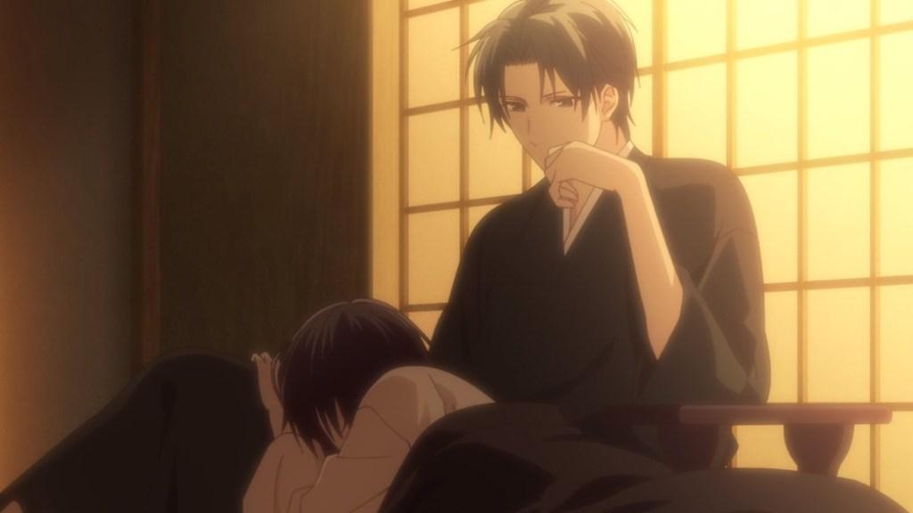 Fruits Basket Episode 25 Shigure and Akito