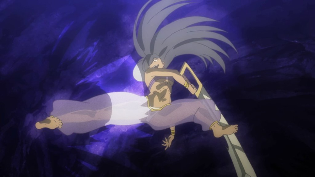 Is It Wrong To Try To Pick Up Girls In A Dungeon II Episode 8 Aisha Kick
