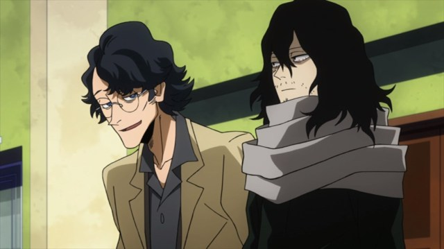 My Hero Academia 4 Taneo Tokuda and Shota Aizawa