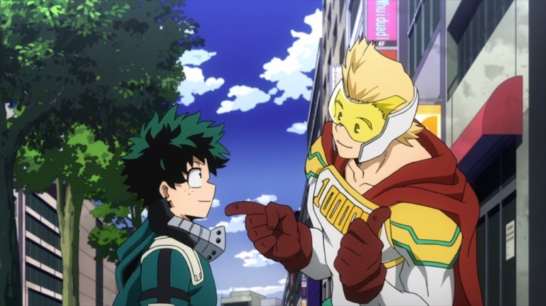 My Hero Academia 4 Episode 67 Midoriya and Mirio