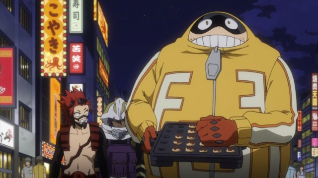 My Hero Academia 4 Episode 68 Red Riot Suneater and Fat Gum