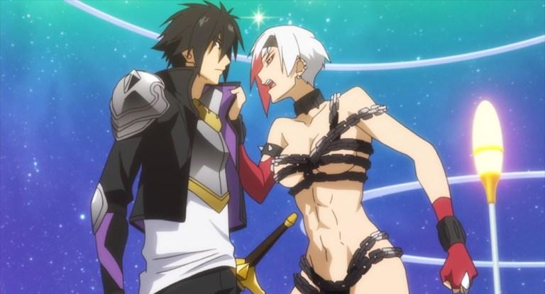 Cautious Hero Episode 5 Seiya and Valkyrie
