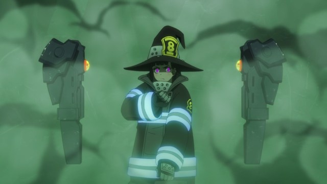 Fire Force Episode 19 Maki's Ready for a Fight