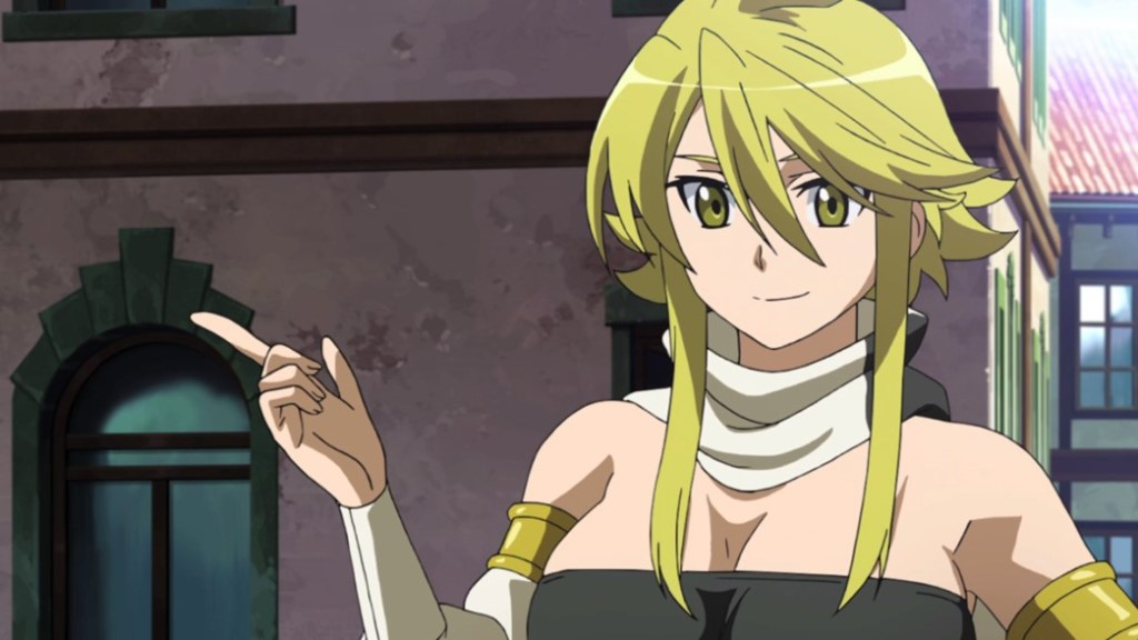 Akame ga Kill Episode 1 Leone