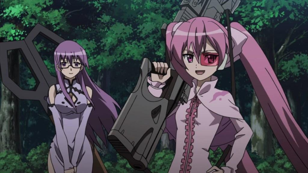Akame ga Kill Episode 3 Sheele and Mine