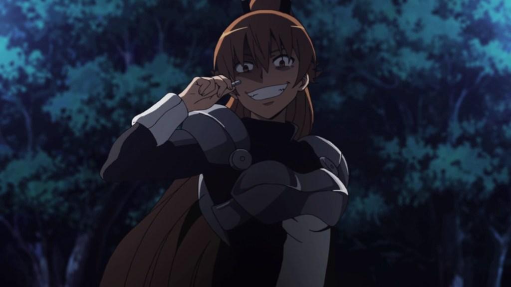 Akame ga Kill Episode 6 Seryu Ubiquitous Calling for Backup