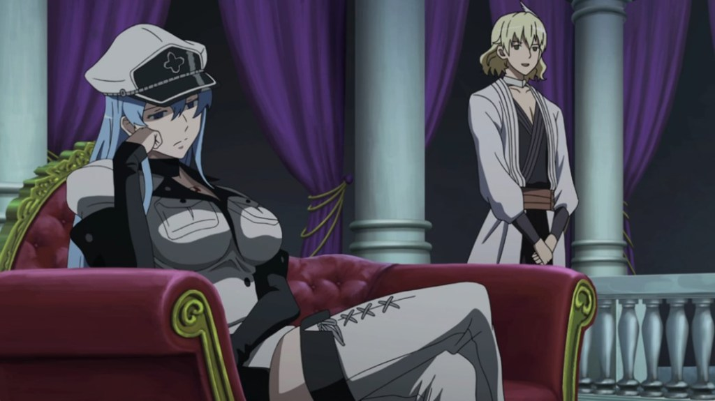 Akame ga Kill Episode 9 Esdeath and Run at the Tournament