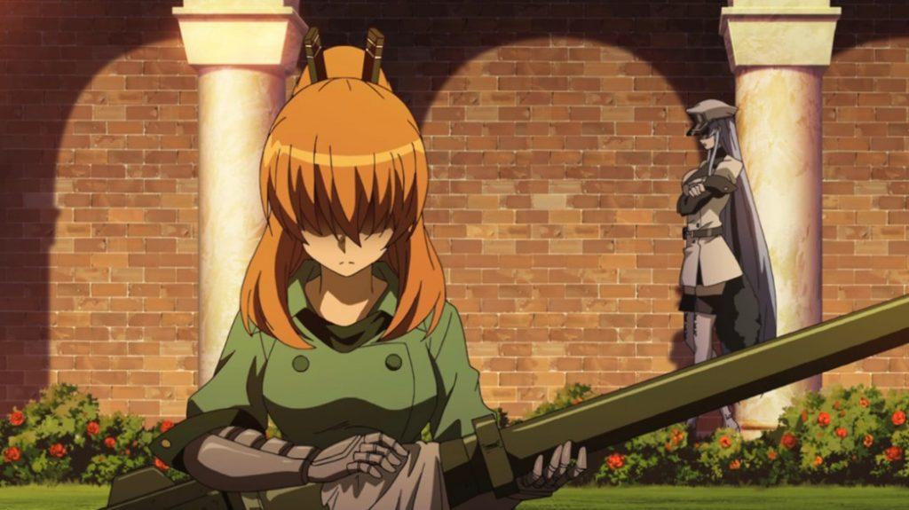 Akame ga Kill Episode 12 Seryu and Esdeath