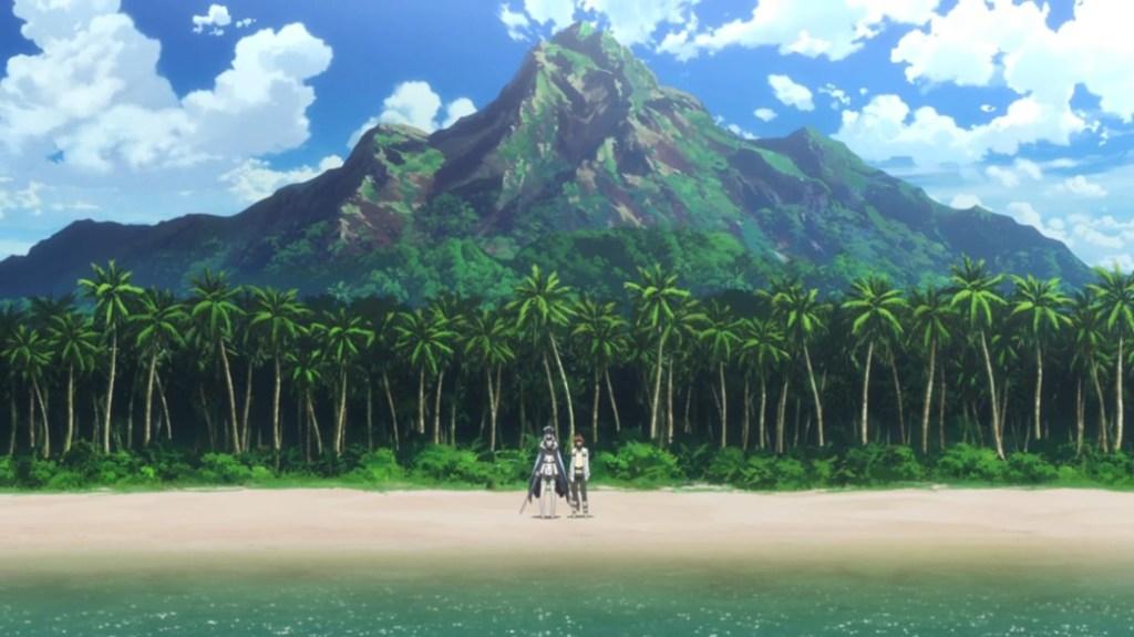 Akame ga Kill Episode 14 Esdeath and Tatsumi on Tropical Island