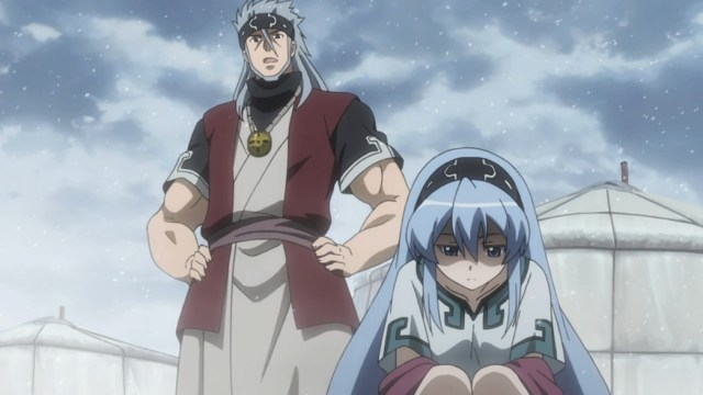 Akame ga Kill Episode 14 Esdeath and her Dad