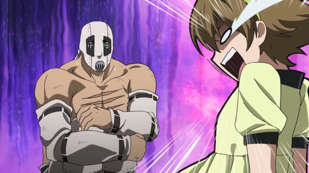 Akame ga Kill Episode 17 Bols finds a hurt little girl