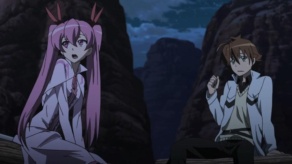 Akame ga Kill Episode 18 Mine and Tatsumi