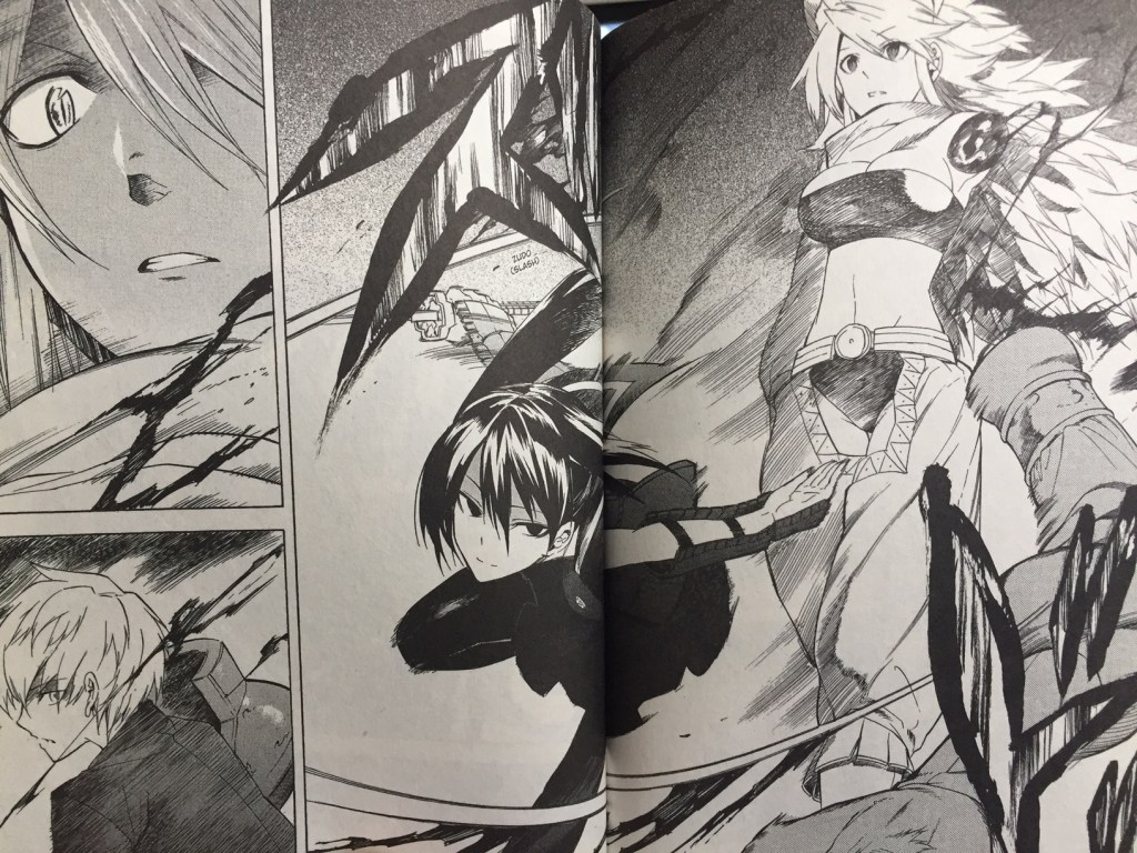 Akame ga Kill Volume 7 Kurome attacking Leone
