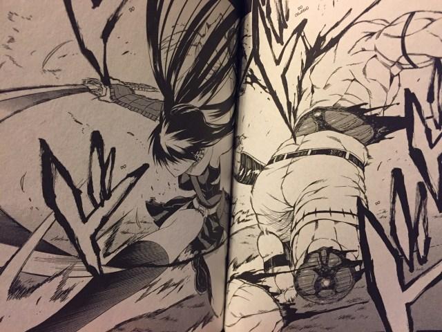 Akame ga Kill Volume 8 Akame versus Ibara