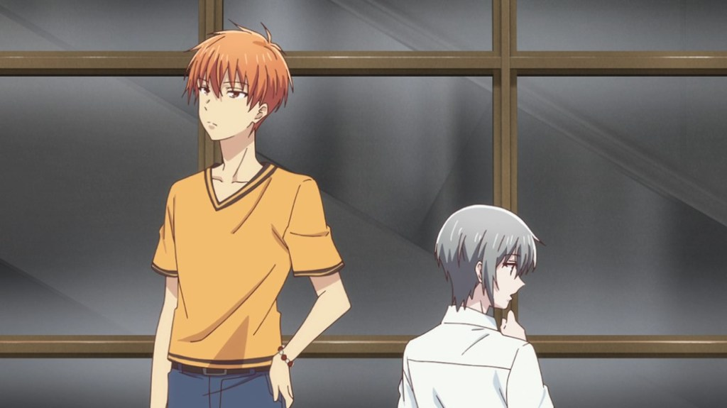 Fruits Basket Episode 16 Kyo and Yuki