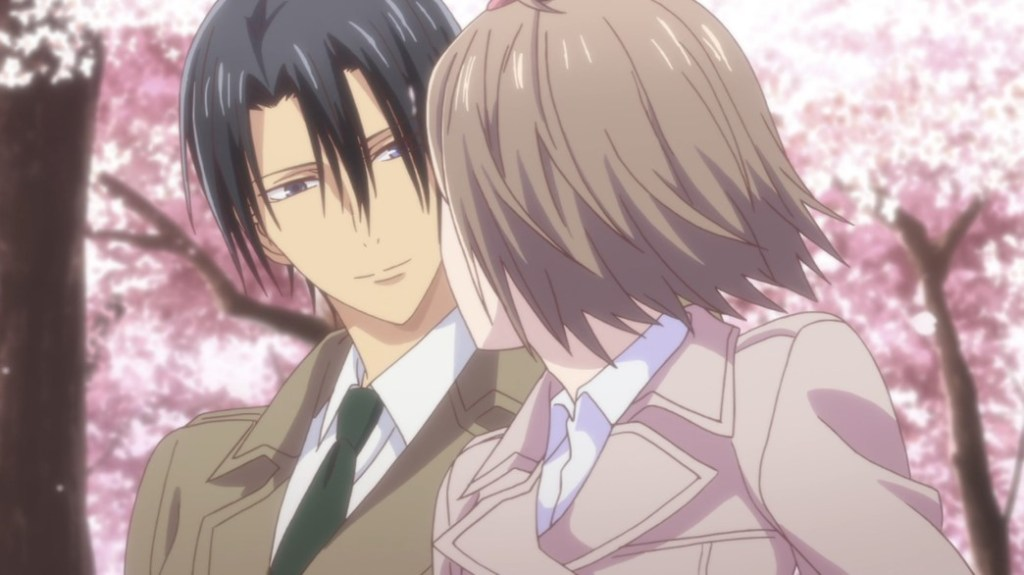 Fruits Basket Episode 7 Hatori Soma and Kana