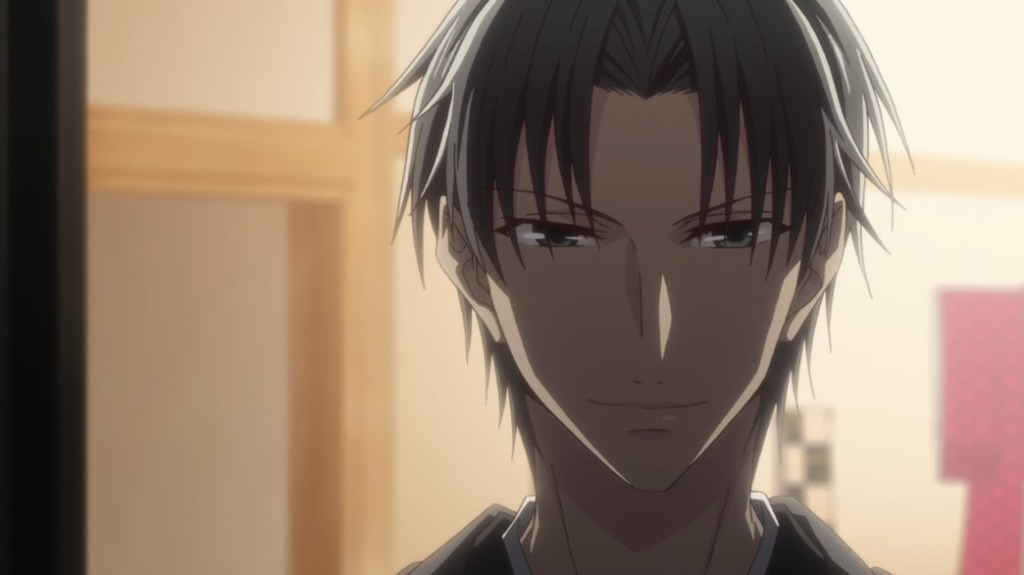 Fruits Basket Episode 8 Shigure approaching Akito