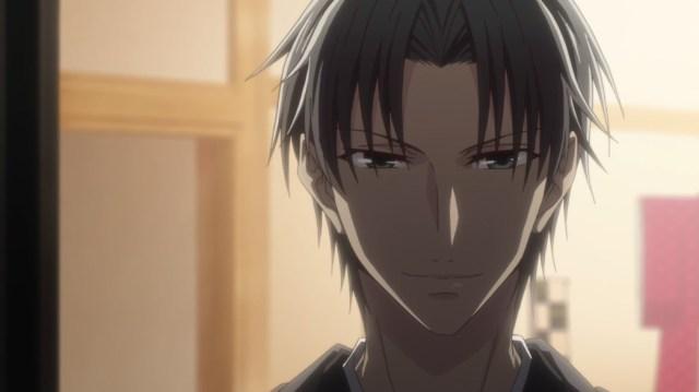 Fruits Basket Episode 8 Shigure approaching Akito