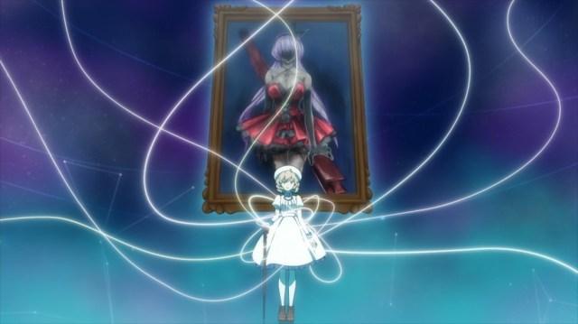 InSpectre Episode 9 Kotoko spinning her fiction