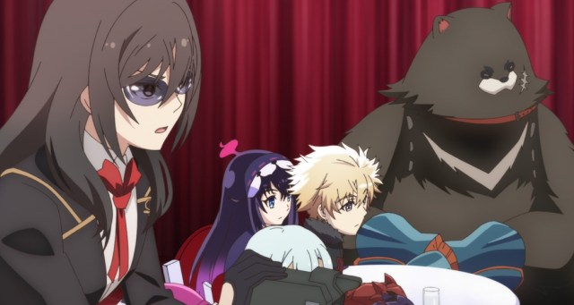 Infinite Dendrogram Episode 8 Marie Adler Nemesis Ray and Shu