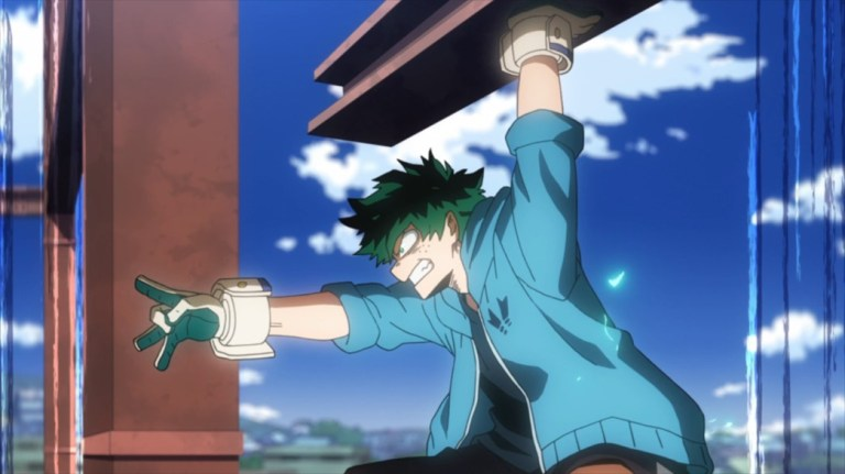 My Hero Academia 4 Episode 84 Midoriya aiming for Gentle
