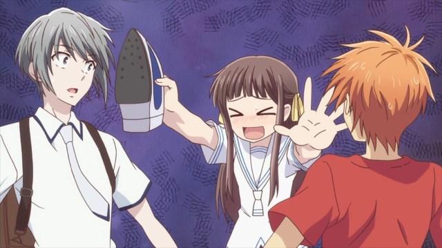 Fruits Basket Episode 26 Tohru Yuki and Kyo