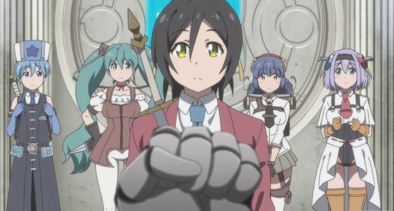 Shachibato President it's time for battle Episode 2 Rivar threatening Kibou Company