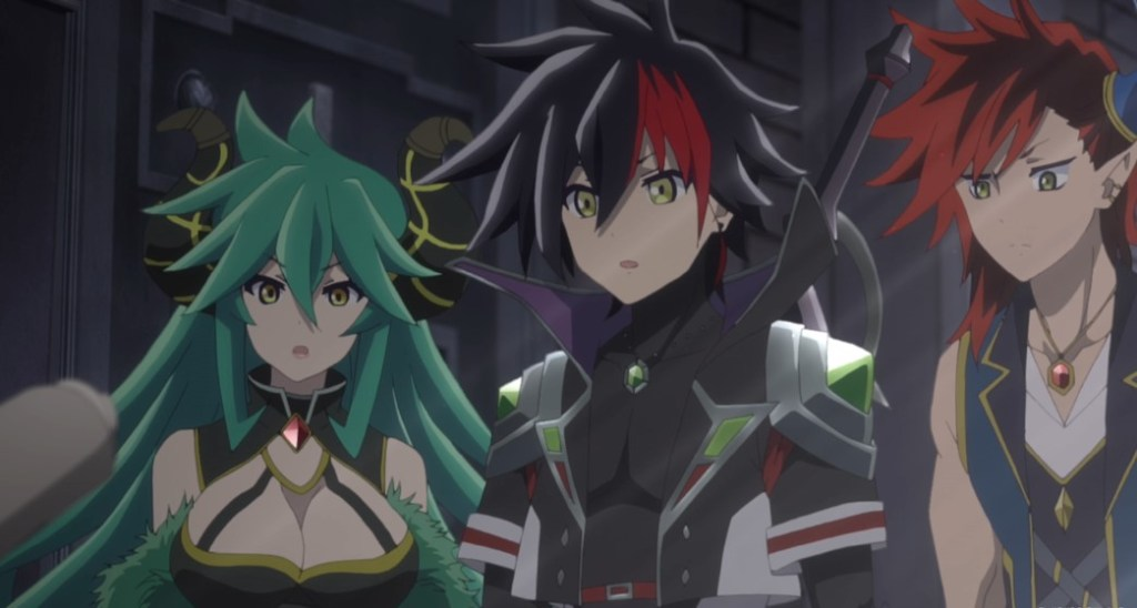 Shironeko Project ZERO Chronicle Episode 3 Lady Groza The Prince of Darkness and Abel to deliver a message to the White Kingdom